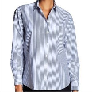 Madewell Button down striped shirt